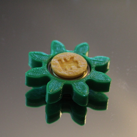 Capture d'écran 2017-06-09 à 09.34.51.png Download free STL file Gear/Flower Spinner • 3D print model, 3DPrintingGurus