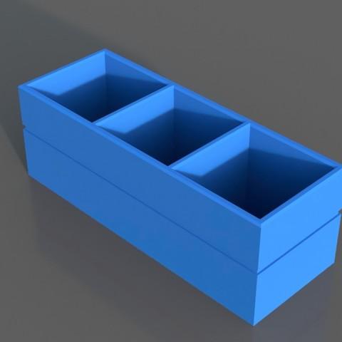 Télécharger fichier imprimante 3D Organisateur de bureau, TK3D