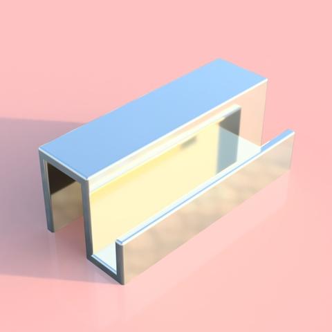 Télécharger plan imprimante 3D gatuit Porte-cartes de visite élégant, TK3D