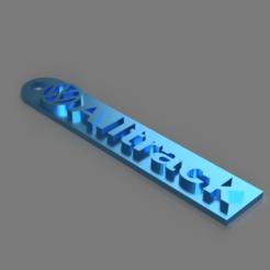 Objet 3D gratuit Porte-clés de Volkswagen Alltrack, TK3D