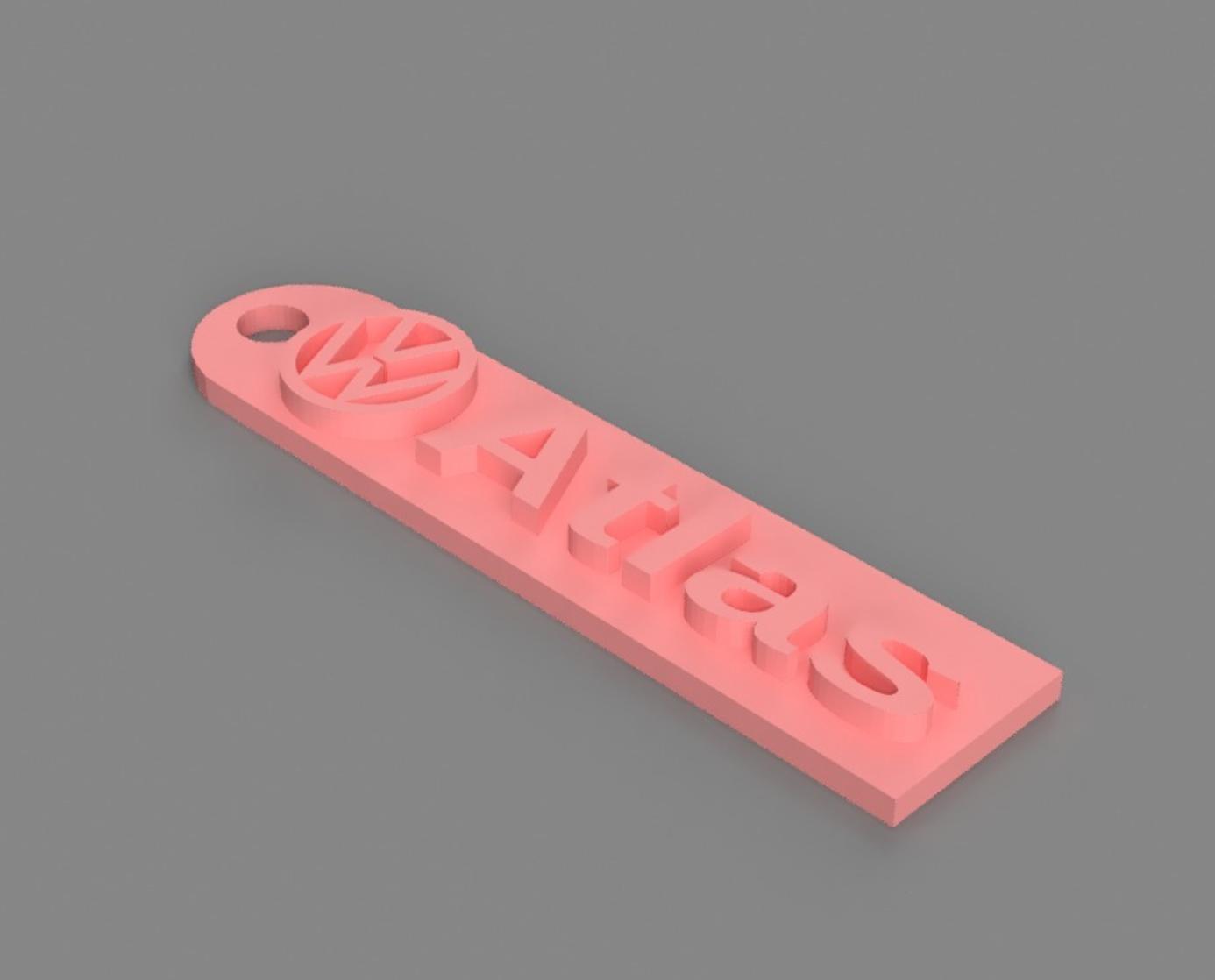 Capture d'écran 2017-06-06 à 16.05.22.png Télécharger fichier STL gratuit Porte-clés Atlas de Volkswagen • Design pour impression 3D, 3DPrintingGurus