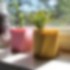 Free STL Twisted Vase Planter, TK3D