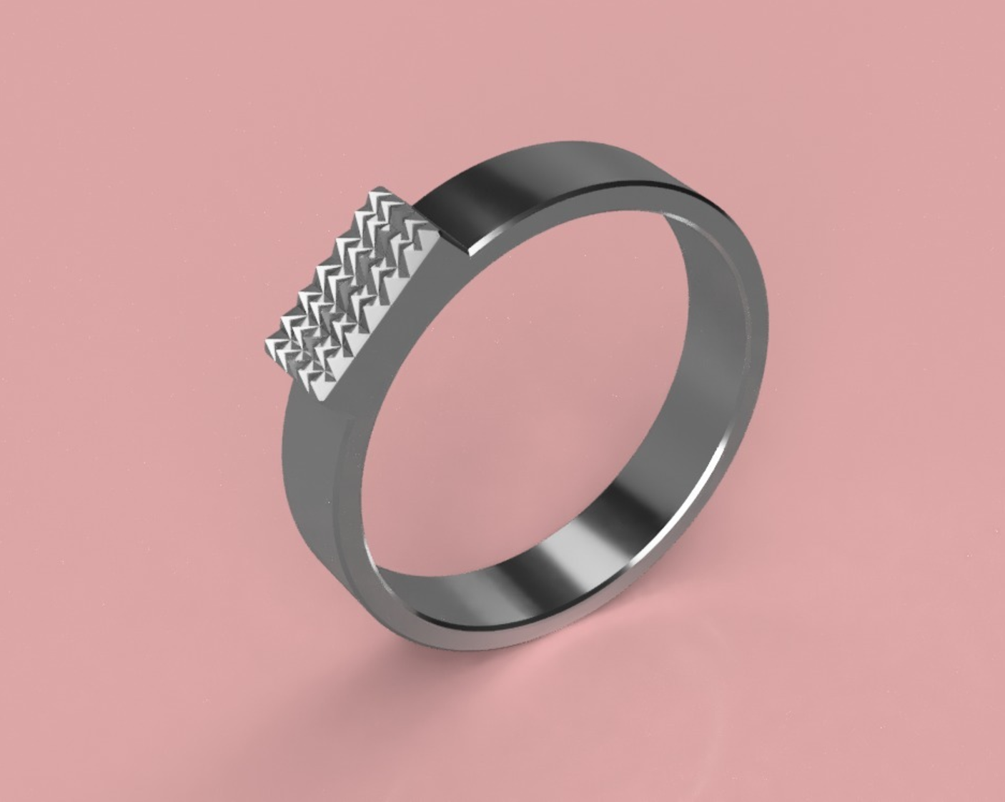 Free Cool Ring ( Gender Neutral ) 3D printer file ・ Cults
