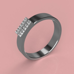 STL gratuit Cool Ring (Gender Neutral), TK3D