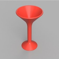 Free 3D print files Martini Glass, TK3D