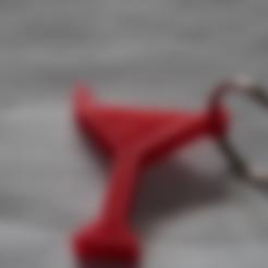 Free 3D model Martini Keychain, TK3D