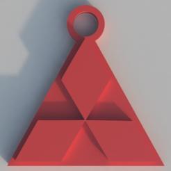 Impresiones 3D gratis Llavero de Mitsubishi, TK3D