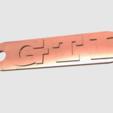 Capture d'écran 2017-05-31 à 17.38.22.png Download free STL file GTI Key Chain • 3D printing template, 3DPrintingGurus