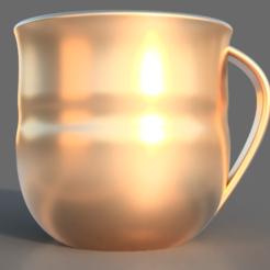 Free stl Golden Cup, TK3D