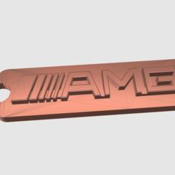 Imprimir en 3D gratis Llavero AMG, TK3D