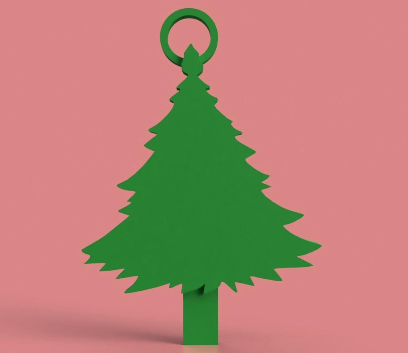 Capture d'écran 2017-12-06 à 16.58.11.png Download free STL file Christmas Tree Key Chain • 3D printable object, 3DPrintingGurus