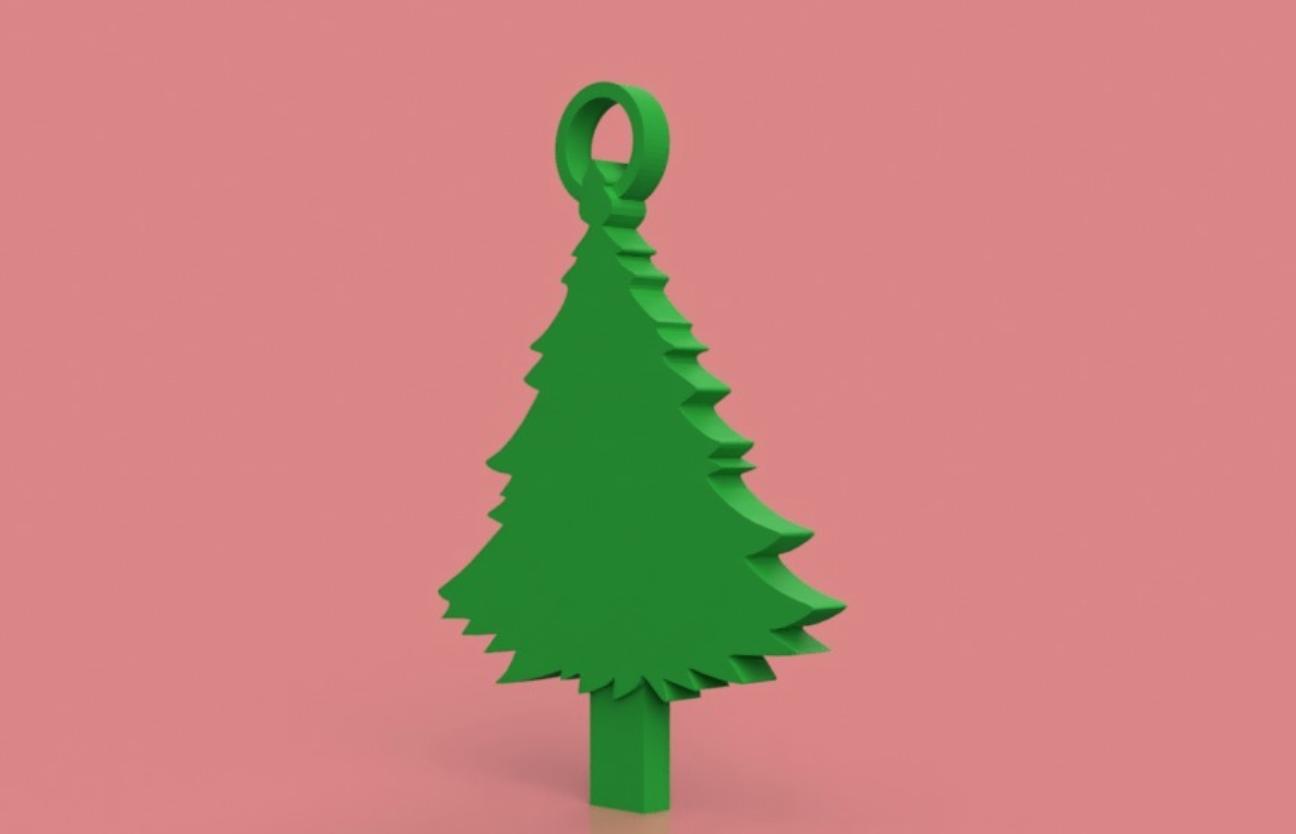Capture d'écran 2017-12-06 à 16.58.00.png Download free STL file Christmas Tree Key Chain • 3D printable object, 3DPrintingGurus