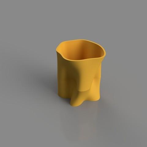 Fichier imprimante 3D Vase abstrait, TK3D