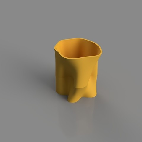 3D printing model Abstract Vase, TK3D