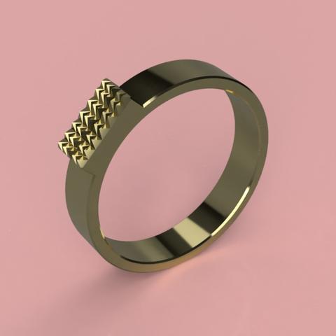 Capture d'écran 2017-06-09 à 09.32.30.png Download free STL file Cool Ring ( Gender Neutral ) • 3D printer design, 3DPrintingGurus