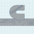 Download free 3D print files Cummins SRT 6 badge, TK3D