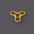 Free 3D printer model Fidget Spinner Triple, TK3D