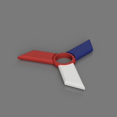 Capture d'écran 2018-01-05 à 10.56.46.png Download STL file Multi Color Fidget Spinner • 3D print model, 3DPrintingGurus