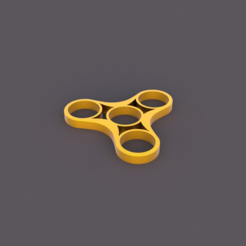 Free 3D printer model Fidget Spinner Triple, TK3D