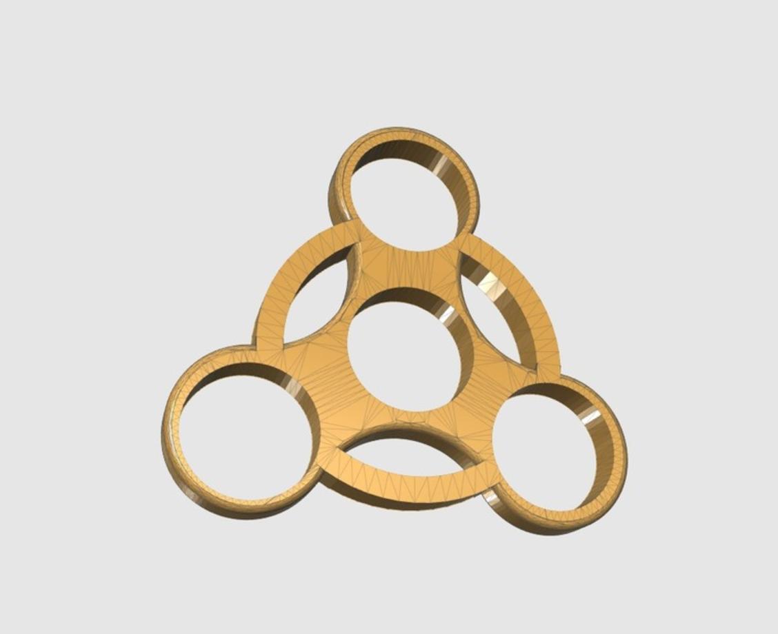 Capture d'écran 2017-05-31 à 17.12.17.png Download free STL file Fidget Spinner ( ABS ) • 3D printable template, 3DPrintingGurus