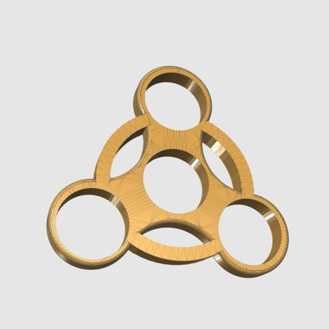 Download free STL files Fidget Spinner ( ABS ), TK3D