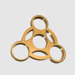 Fichier imprimante 3D gratuit Fidget Spinner (ABS), TK3D
