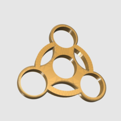 Free STL Fidget Spinner ( ABS ), TK3D