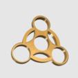 Download free STL files Fidget Spinner ( ABS ), TK3D