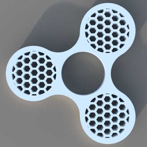 Capture d'écran 2017-12-20 à 11.09.04.png Download free STL file Honey Comb Fidget Spinner • 3D printer design, 3DPrintingGurus