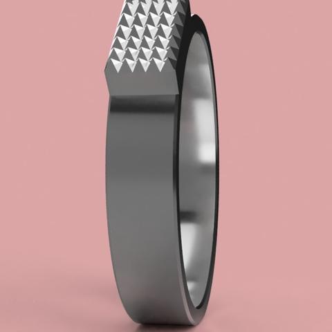 Capture d'écran 2017-06-09 à 09.32.38.png Download free STL file Cool Ring ( Gender Neutral ) • 3D printer design, 3DPrintingGurus