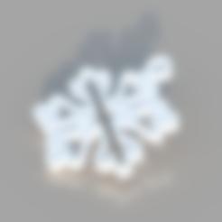 Télécharger modèle 3D gratuit Ornement de flocon de neige, TK3D