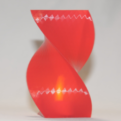 Free 3D model Triangle spiral vase, TK3D