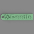 Download free 3D print files Volkswagen Beetle Keychain, TK3D