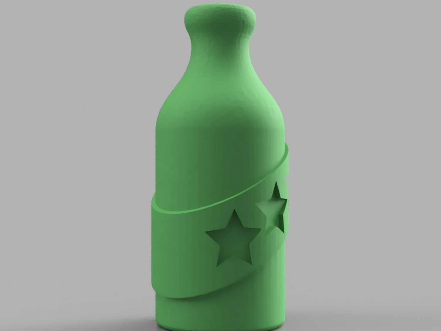 Capture d'écran 2017-06-09 à 09.28.53.png Download free STL file Booze Fighter Bottle and Badge • Model to 3D print, 3DPrintingGurus