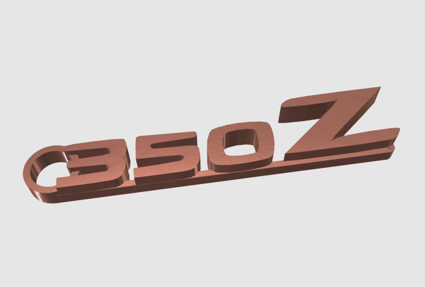 Capture d'écran 2017-05-31 à 16.51.05.png Télécharger fichier STL gratuit Porte-clés Nissan 350Z • Modèle à imprimer en 3D, 3DPrintingGurus
