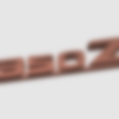 Download free 3D print files Nissan 350Z keychain, TK3D