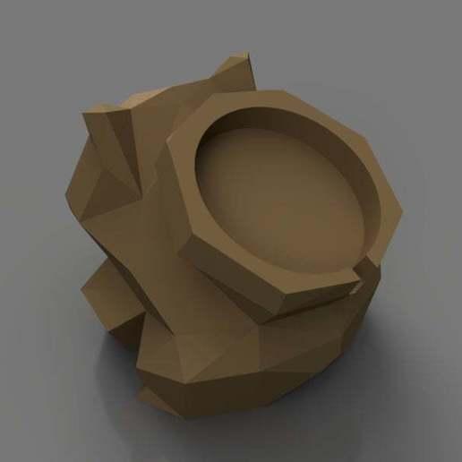 Descargar archivos 3D Bajo Poli-bombasur Cargador de relojes Apple Dock, TK3D