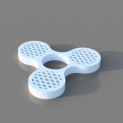 Free 3D print files Honey Comb Fidget Spinner, TK3D