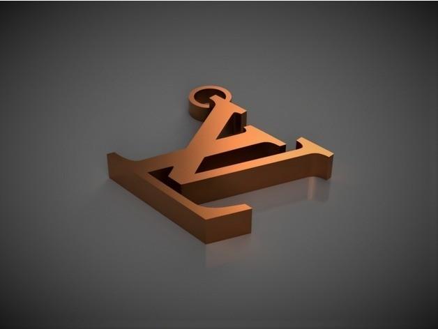 cdf7cbb6dddc1c2b6e40ed7768d775bb_preview_featured.jpg Télécharger fichier STL Porte-clés Louis Vuitton • Plan imprimable en 3D, 3DPrintingGurus