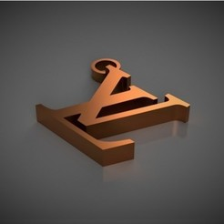 Free STL Louis Vuitton Key Chain, TK3D