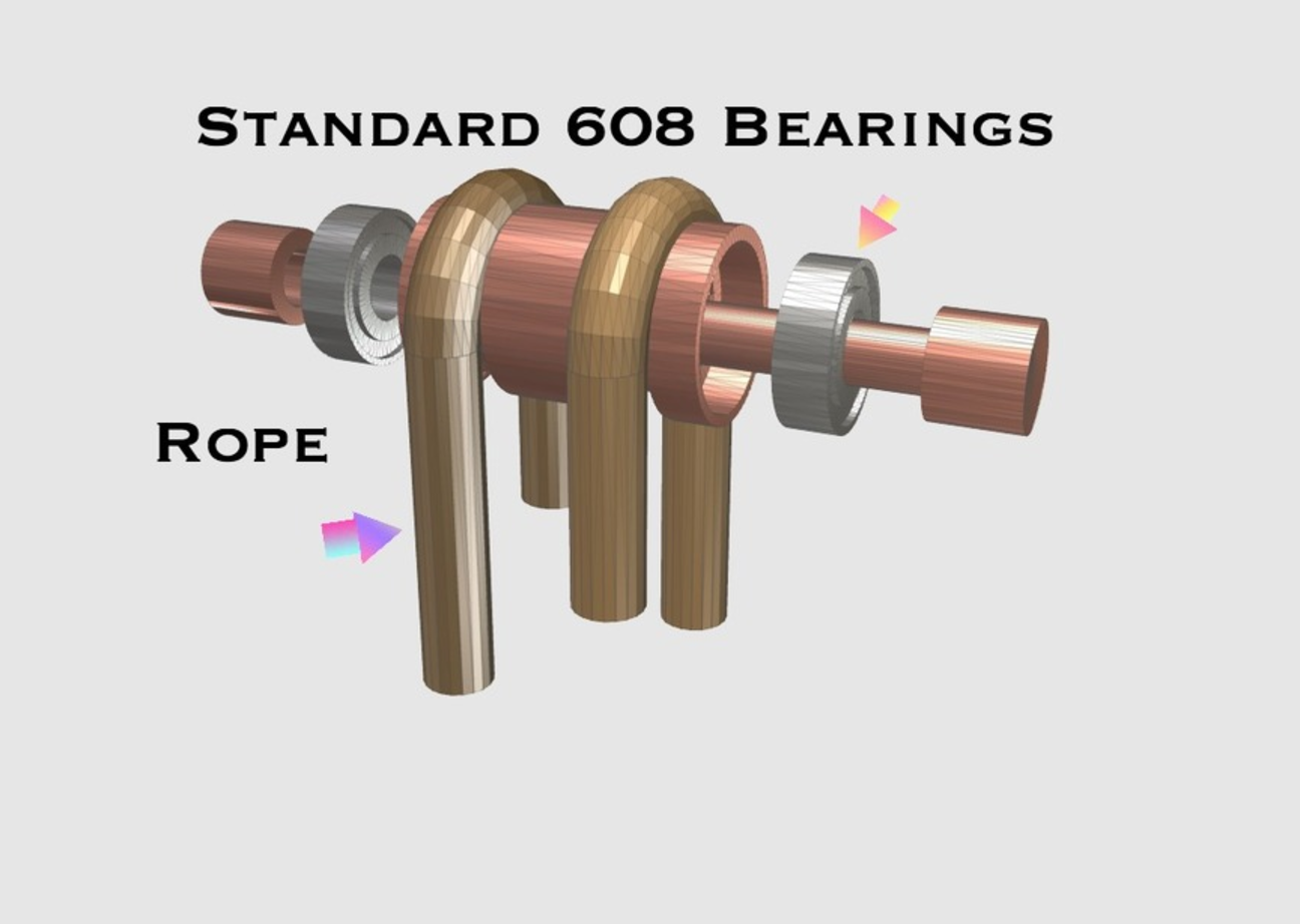 Capture d'écran 2017-05-31 à 17.36.33.png Download free STL file Pulley With 608 bearings • Model to 3D print, 3DPrintingGurus