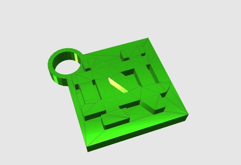 Capture d'écran 2017-05-31 à 16.54.38.png Download free STL file Notre Dame Keychain • 3D printer template, 3DPrintingGurus