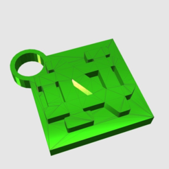 Download free 3D printer designs Notre Dame Keychain, TK3D