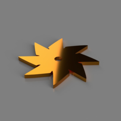 Free 3D print files 8 Point Throwing Star, TK3D