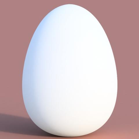 Download free STL file  Gift Egg • 3D printable template, 3DPrintingGurus