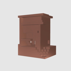 Download free 3D printing designs Modern House, TK3D