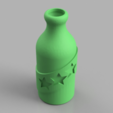 Download free 3D model Booze Fighter Bottle and Badge, TK3D