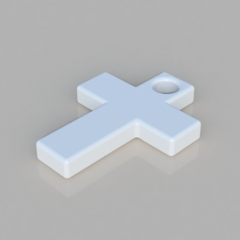 Free 3D printer model Cross, TK3D
