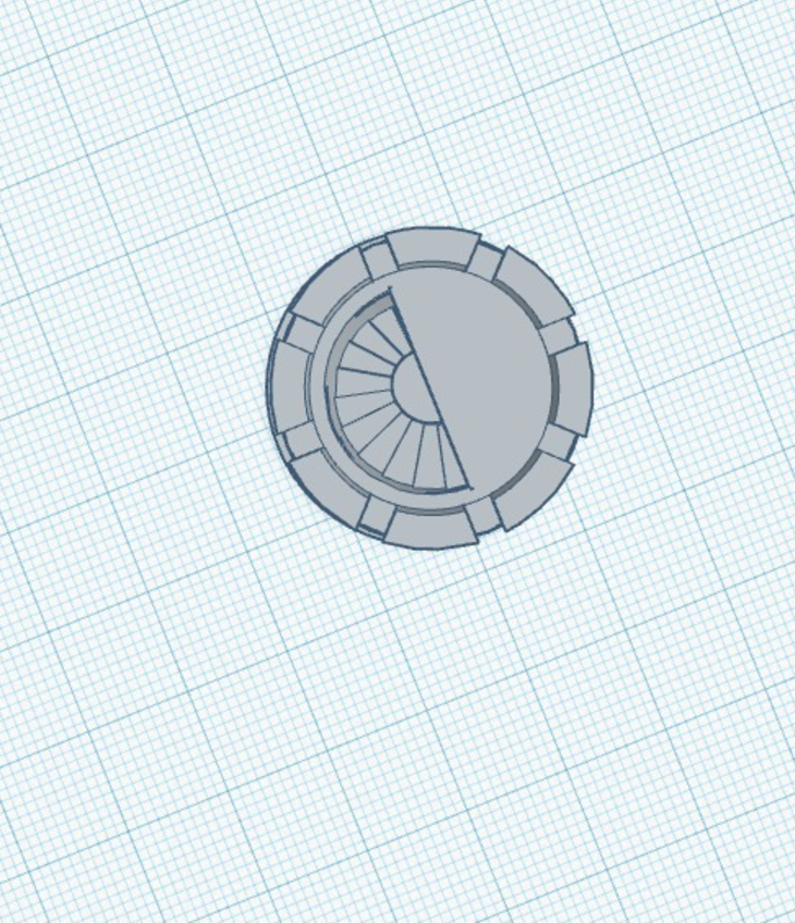 Capture d'écran 2017-05-31 à 17.44.01.png Download free STL file Rook With Staircase • Template to 3D print, 3DPrintingGurus