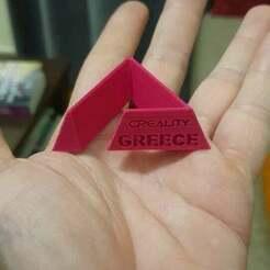 138267706_1001235593615547_7749191215477210710_n.jpg Télécharger fichier STL gratuit Porte-clé Grèce Créalité • Design pour imprimante 3D, 3DPrintInGreece
